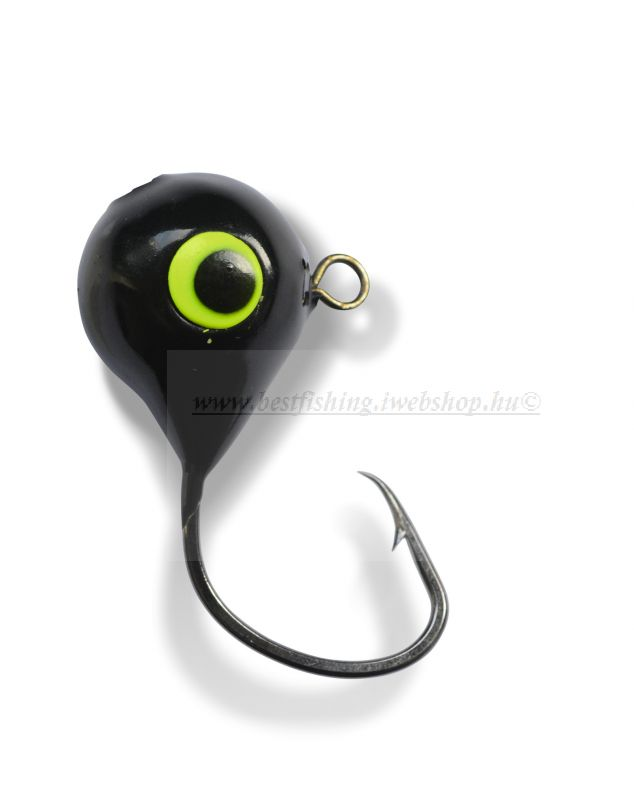 BLACK CAT VARIO FIREBALL HEAD  130G  7/0  1DB JIG FEJ
