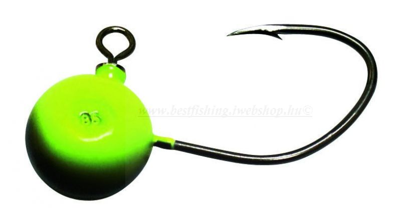 BLACK CAT 85G FIREBALL, #9/0 JIG FEJ