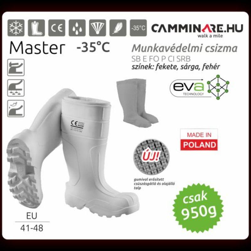 CAMMINARE MASTER EVA CSIZMA FEHÉR -35 FOK-IG MÉRET: 48