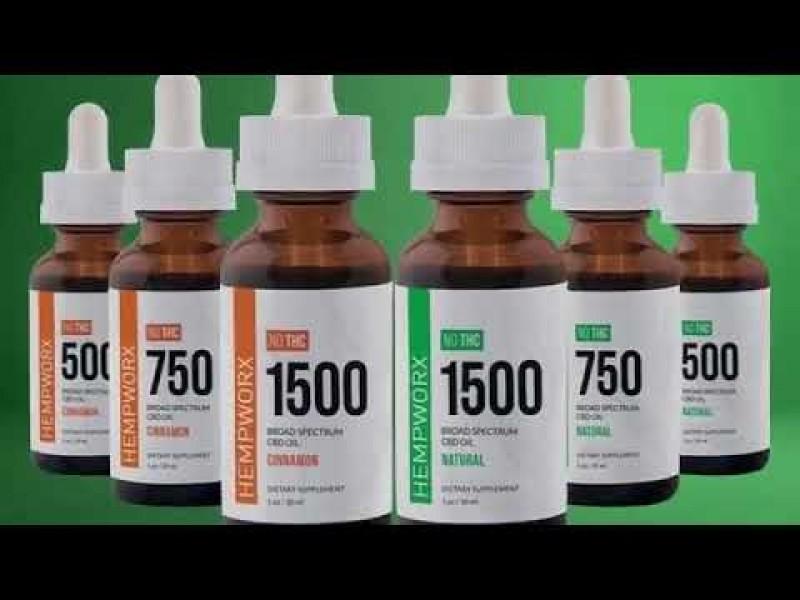 HempWorx THC mentes CBD olaj 1500mg-narancsos CBD OLAJOK