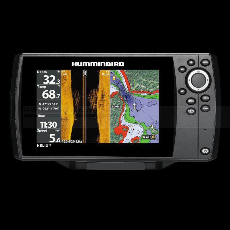 HUMMINBIRD HELIX 7 CHIRP SI GPS G2 HALRADAR