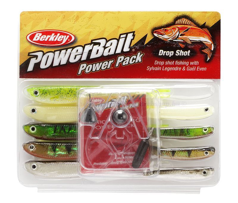 BERKLEY POWERBAIT DROP SHOT PRO PACK AKCIÓS SZETTEK