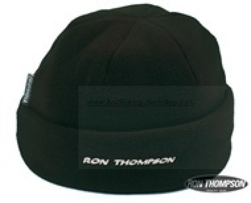 R. T. Fleece Hat Black