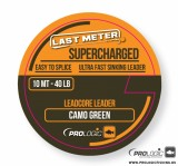 FIR IMPLETIT - PROLOGIC Supercharged Leadcore Leader 10m 50lbs Camo Green