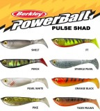 BERKLEY POWERBAIT PULSE SHAD 11CM PEARL WHITE-GUMIHAL