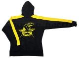 Black Cat Hoodie, kapucnis pulóver, méret:L HARCSÁZÓ BOT