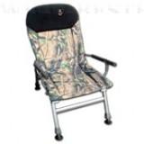 Carp FK5 karfás fotel állítható háttámlával terepmintás
