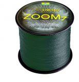 Fonott Zsinór CORMORAN CORASTRONG ZOOM7 petrol-grün 1000m 0,10mm