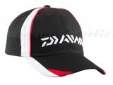 DAIWA BASBALL SAPKA CAP BLK./WHT/RD