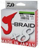 DAIWA J-BRAID FONOTT ZSINÓR CHARTREUSE 8 BRAID 150M 0,22MM