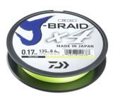DAIWA J-BRAID X4E 0,15MM-135M SÁRGA