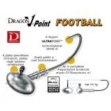 JIGHEAD  DRAGON V-POINT FOOTBALL MÉRET: 4/0-7,5G