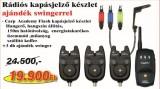 Flash kapásjelző készlet 3+1 + 6361-001+ 6361-002 + 6361-003 (KB-457)-kapásjelző szett