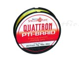Quantum Quattron PTI-Braid 0. 17mm, 1800m, galben