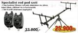 Nevis Specialist rod pod szett 6107-004+ 2db 6314-001 (KB-424) AKCIÓS SZETTEK