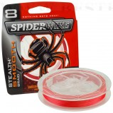SPIDERWIRE STEALTH MOOTH 8 RED 0,14MM 300M