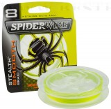 SPIDERWIRE STEALTH MOOTH 8 YELLOW 0,12MM 150M