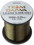 TEAM DAIWA SUPER SOFT ZSINÓR 3000M 0,14MM ÁTTETSZŐ