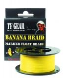 TFG BANANA SPOD and MARKER BRAID - 30LB 300YDS, banánszínű