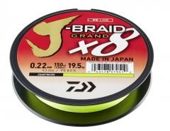 DAIWA J-BRAID GRAND X8E 0,06MM-135M CHARTREUSE FONOTT ZSINÓROK