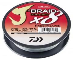 DAIWA J-BRAID GRAND X8 0,06MM-135M VILÁGOS SZÜRKE FONOTT ZSINÓROK
