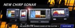 Lowrance Halradar Elite-9X CHIRP halradar 83/200, 455/800 kHz-es jeladóval HALRADAR