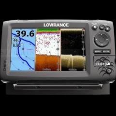 LOWRANCE HOOK-7 HALRADAR GPS HALRADAR