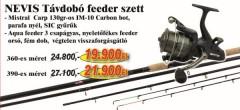 Nevis Távdobó feeder szett 1600-360+ 2292-350 (KB-449)-FEEDER SZETT AKCIÓS SZETTEK