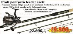 Profi Ponyozó feeder szett 1620-390+ 2292-350 (KB-423) AKCIÓS SZETTEK