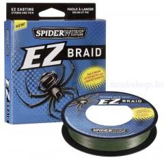 Fonott Zsinór Spiderwire EZ BRAID 0,12MM 100M LO-VIS GREEN 5,1KG FONOTT ZSINÓROK
