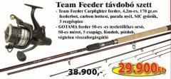 Team Feeder pontyozó szett 2038-271+ 2291-340 (KB-439)-FEEDER SZETT AKCIÓS SZETTEK